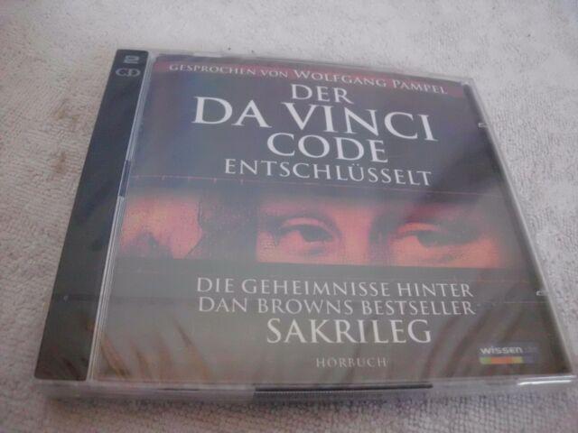 Da Vinci Code entschlüsselt – Sakrileg – Hörbuch – Doppel-CD--OVP