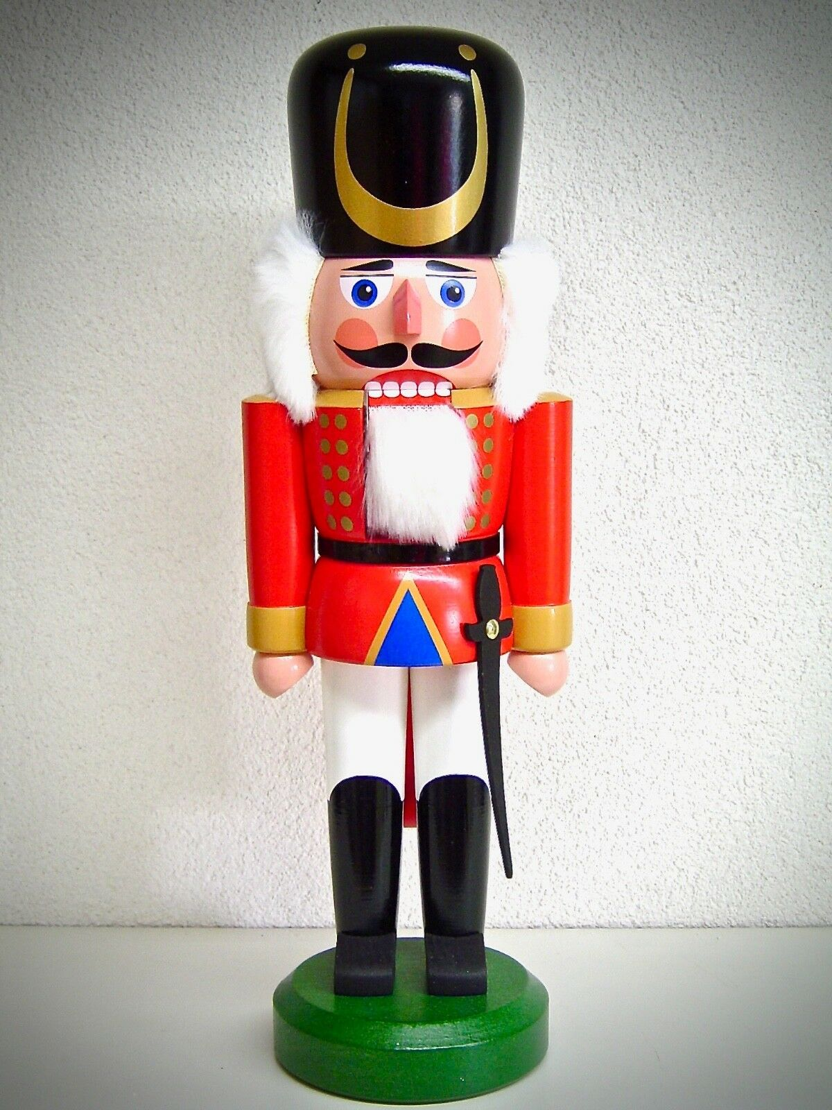 Casse-Noisette Soldat Rouge 36 cm Véritable Erzgebirge 15733