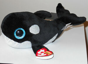 9761456da15 Ty Beanie Boos - SHAMU the Whale (6-8 Inch)(Sea World Exclusive) NEW ...