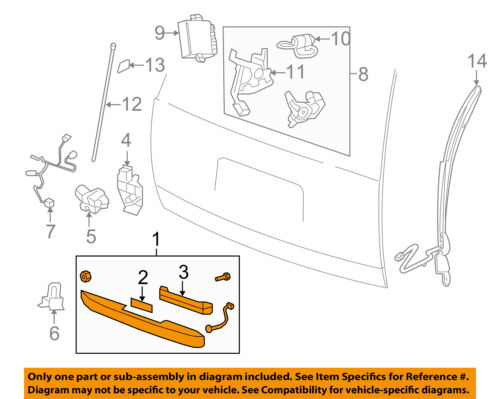 GM OEM Liftgate Tailgate Hatch-Handle Outside Exterior 25838218