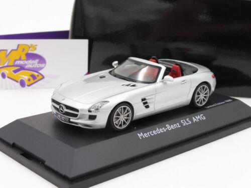 "a197 Schuco 07457 # MERCEDES BENZ SLS AMG Roadster ANNO 2012 /""ARGENTO/"" 1:43"