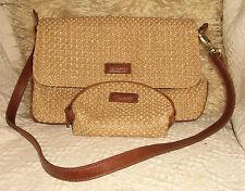 Bertolli weave shoulderbag/handbag& purse. (88)