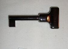 CHIAVE PER SERRATURE  MOBILI OTTONE LIGHT BLACK  LUNGHEZZA 56 MM C122