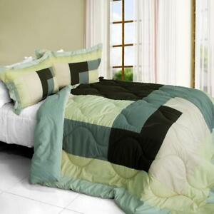 Simple-Blanche-Down-Alternative-Comforter-Set-twin-queen-or-king-gray-pink