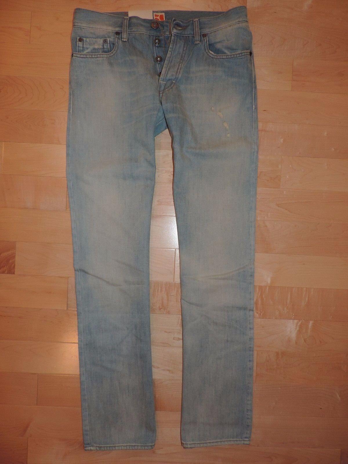 Hugo Boss Jeans Medium Ligth bluee Washed orange 25 32 x 34 Regular Fit