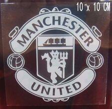 2pc Vehicle FUN decal FC Manchester United Internal Car window Sticker