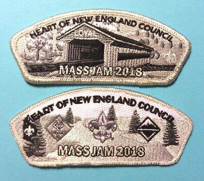MassJam 2018 Participant Patch