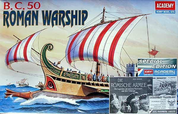 Roman Battle Ship Special Edition Academy 1401 1 72