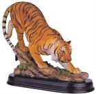 Tiger Collectible Figurine Statue Wild Cat Animals Zoo Home Decor Outdoor Gift
