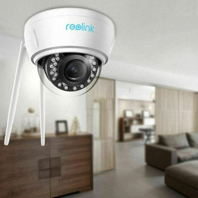 5MP Security IP Camera Dual-Band WIFI Wireless 4X Optical Zoom Reolink RLC-422W