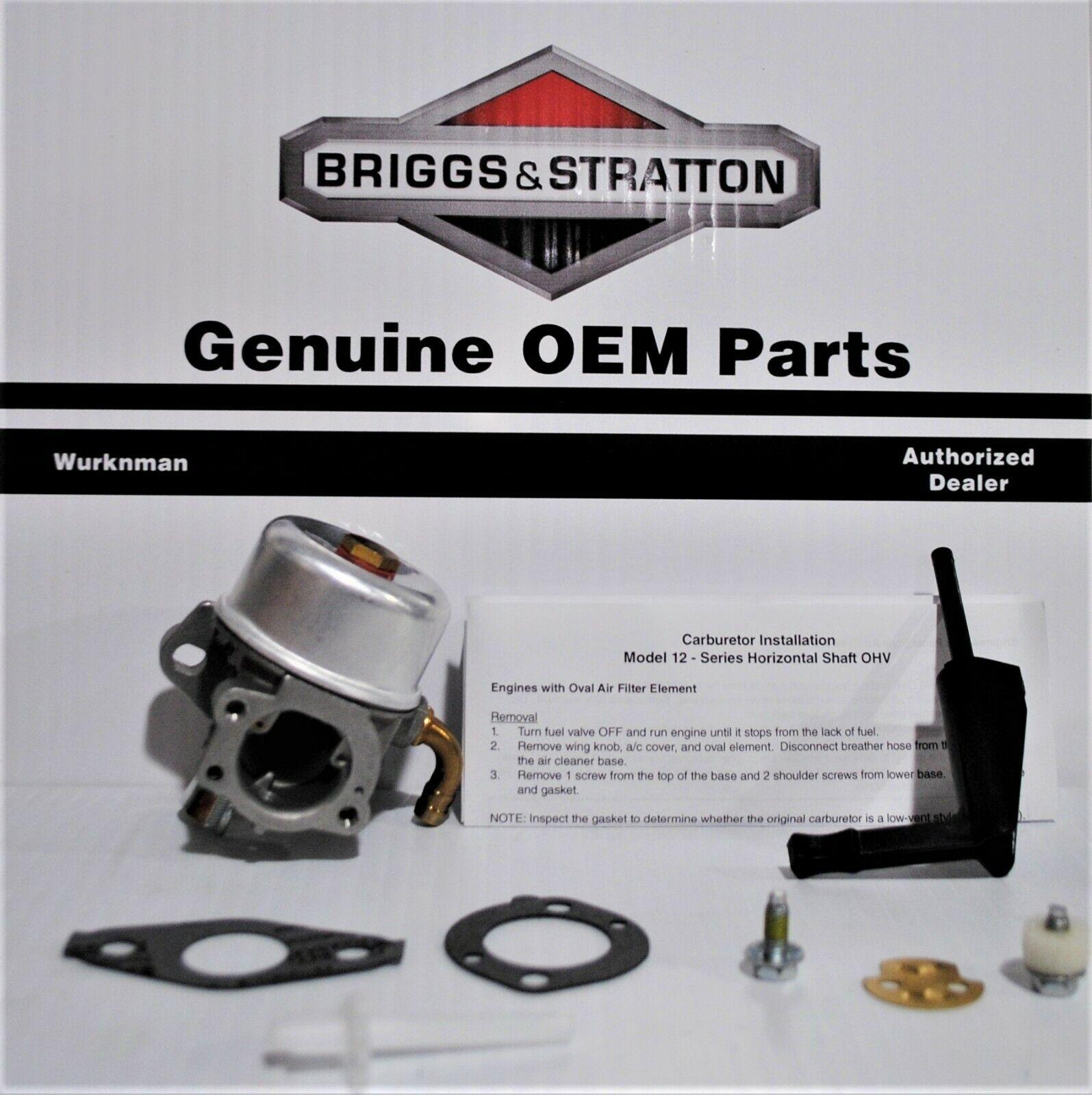 Genuine OEM BRIGGS & Stratton 591299 Cocheburador 798650 6984 74 791991