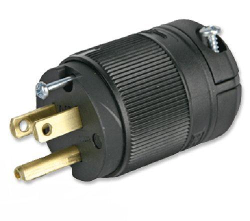 Leviton 15A Male Edison 3 Prong Plug 120V U Ground