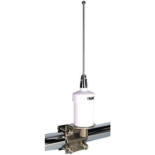 Tram Stainless Steel Whip VHF Boat Marine Radio Antenna Rail Mount