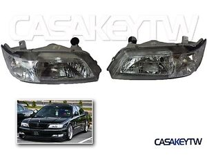 New Headlights Chrome Head Light For 1996 1999 Infiniti