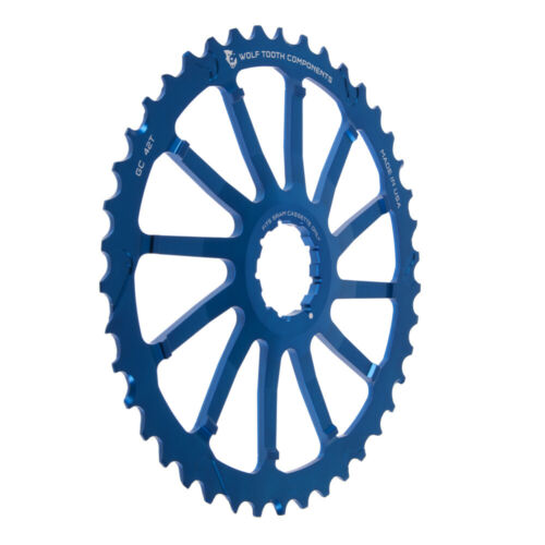 New 2016 Wolf Tooth GC42 42 tooth cassette sprocket 42t Cog SRAM compatible Blue