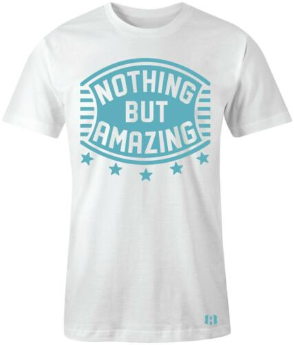 """/""""Nothing But Amazing/"""" T-SHIRT to Match Air Retro 6 /""""Still Blue/"""" GS"""