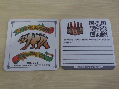 Beer Collectible COASTER /</> BEAR REPUBLIC Brewing Co ~ Honest Sonoma County Ales