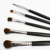 Beautydec Eye Shadow Eyeliner Black Pro Cosmetic Blending Makeup Brush Set Kit