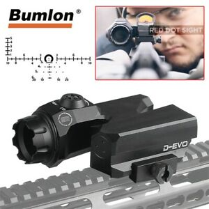 D-EVO-RifleScope-Dual-Enhance-CMR-W-Reticle-Matt-Dot-Sight-magnifier-for-Hunting
