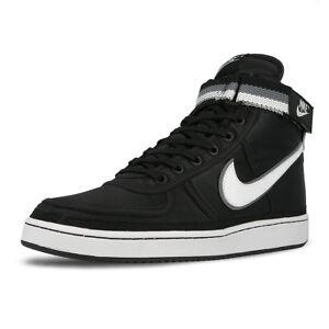 super popular 79581 ed56a Image is loading Nike-Vandal-High-Supreme-Black-White-Cool-Grey-