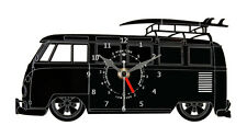 VW Splitscreen Bay Window Camper Van Time + Tide Acrylic Clock - WC.B.VWCT04