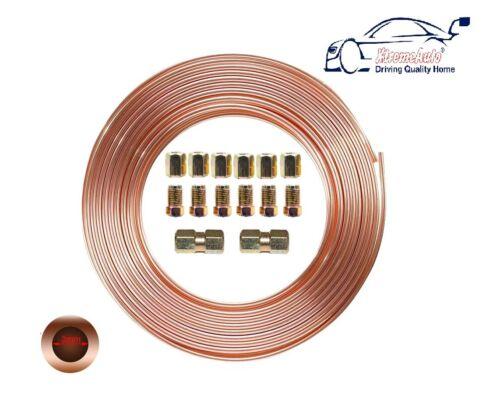 Connectors Peugeot 307 CC 2003-2018 12FT Copper Brake Pipe