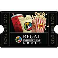 $50 Regal Entertainment Group Gift Card