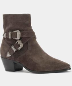 Frye-Women-039-s-Ellen-Buckle-Short-Boots-MSRP-358-Size-7-5M-M1-36-New