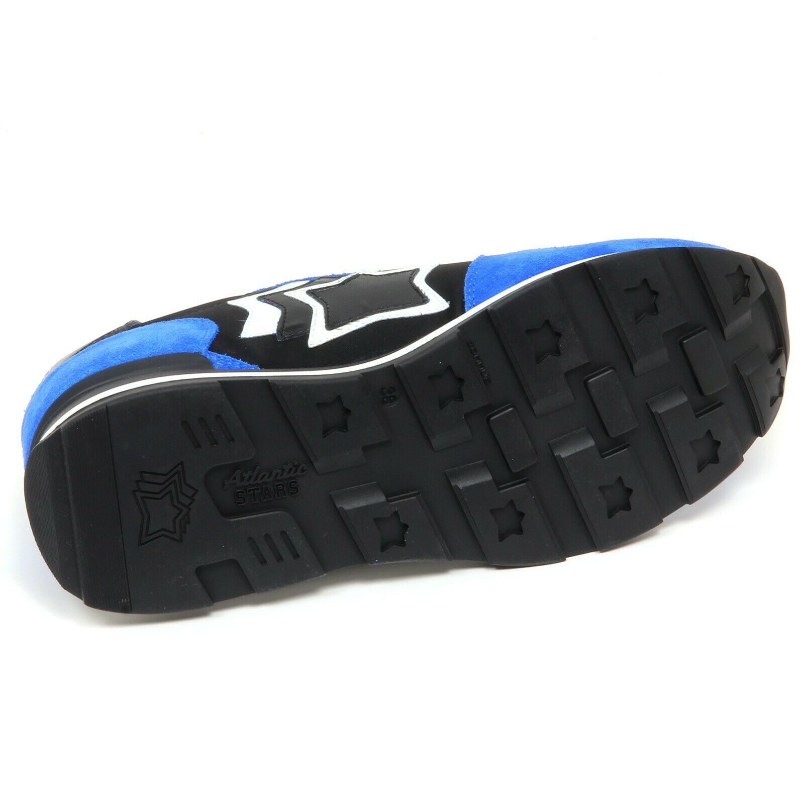F6118 scarpe da ginnastica donna blutte nero ATLANTIC STARS STARS STARS GEMMA scarpe woman 0292d1
