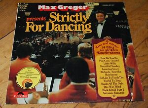 LP Max Gregor presents Strictly for Dancing - @home, Deutschland - LP Max Gregor presents Strictly for Dancing - @home, Deutschland