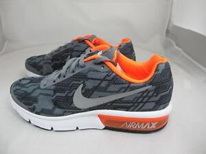 the best attitude b097f 2245f Image is loading NEW-JUNIORS-NIKE-AIR-MAX-SEQUENT-PRINT-820329-