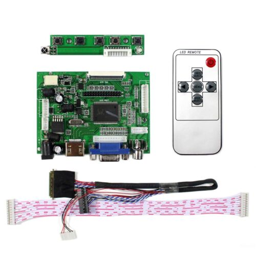 HDMI VGA 2AV LCD driver board work for 7inch 10.1inch 1280x800 40Pin LCD panel