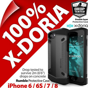 2-x-x-Doria-Rumble-Gear-Protective-Rugged-Case-Cover-Apple-iPhone-6-6S-7-8