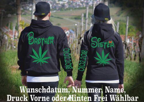Motiv Look Sister Hoodie Xs5xl Pullover Love Brother Partner Viele Farben Top ulJTFKc13
