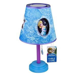 Image Is Loading Disney Frozen Table Lamp Toddler Bedroom Playroom Decorative