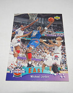 1992-93-Michael-Jordan-NBA-Basketball-Upper-Deck-East-All-Star-Insert-Card-425