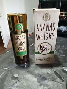 1bt. Ananas in Whisky Long John Dufour 75 cl Anni 70 Vintage