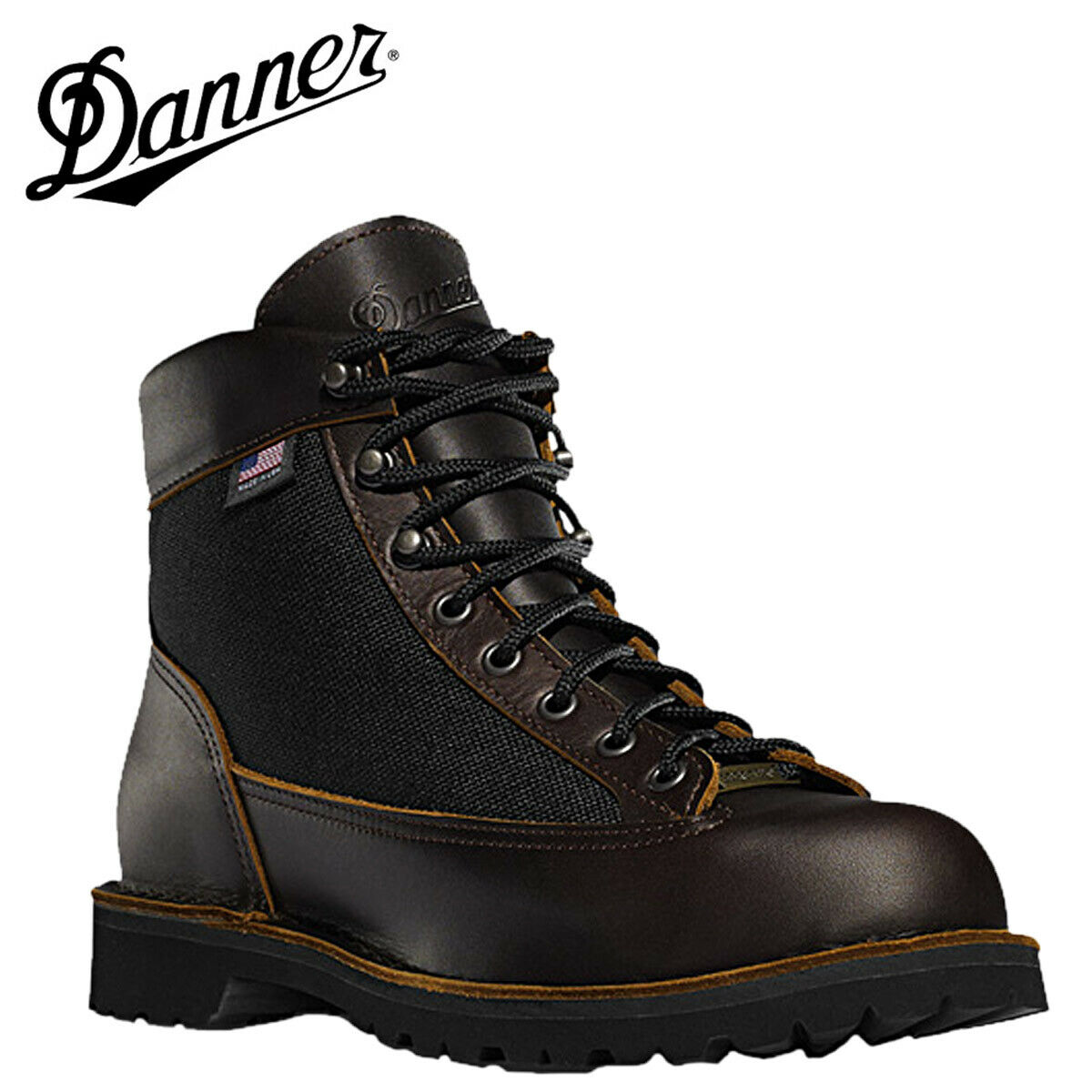 DANNER 30447 Light Woodlawn (Hand Crafted, Light Weight Vibram Outsole)