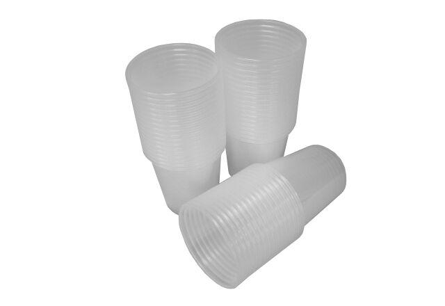 50 Mischbecher 500ml aus PP-Natur HP-L1064 für Epoxidharz & Polyesterharz EP UP