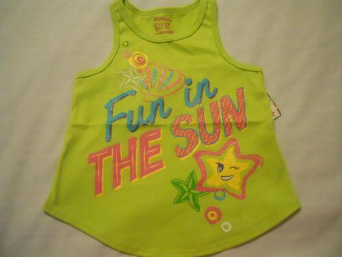 Girls Racer Tank Top Shirts Infant Toddlers Sleeveless Pineapple Print