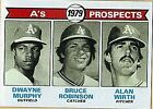 1979 Topps A'S Prospects #711 Baseball Card