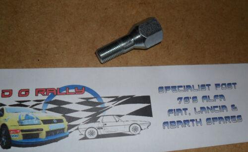 53mm Long 4411390 New Fiat Lancia X1//9 X19 Alloy Wheel Plated Wheel Bolt