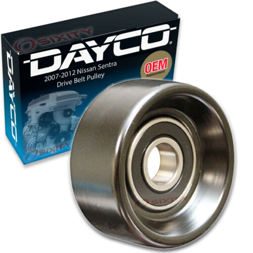 Dayco Drive Belt Pulley for 2007-2012 Nissan Sentra 2.0L L4 Tensioner tf