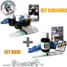 RECHARGE ENCRE- Pack Kits Encre Couleur + noir CANON BCI 24