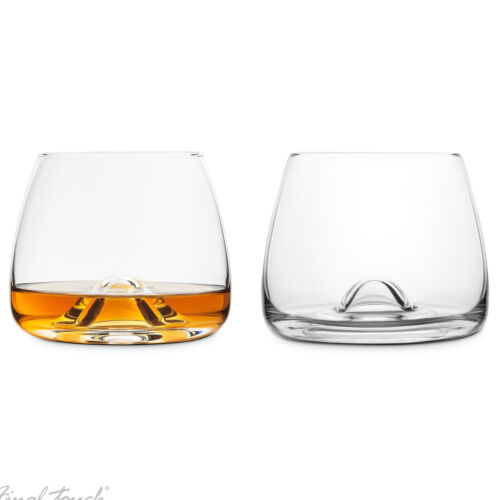 Whiskeygläser Final Touch Whiskygläser Whiskey Tumbler Genießer im 2er Set