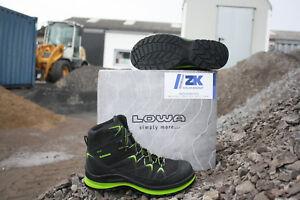 factory outlet outlet online detailed look Details zu LOWA Arbeitsschuhe Sicherheitsschuhe GORETEX Schuhe INNOX Work  Lime Mid S3 5903