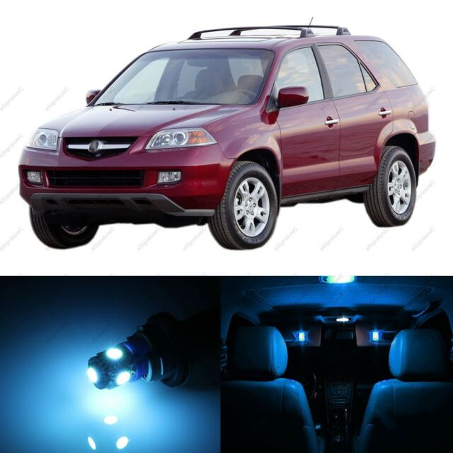 20 X ICE BLUE LED Interior Lights Package For 2001