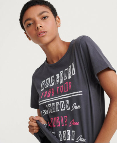 Superdry Womens Tour Boxy T-Shirt