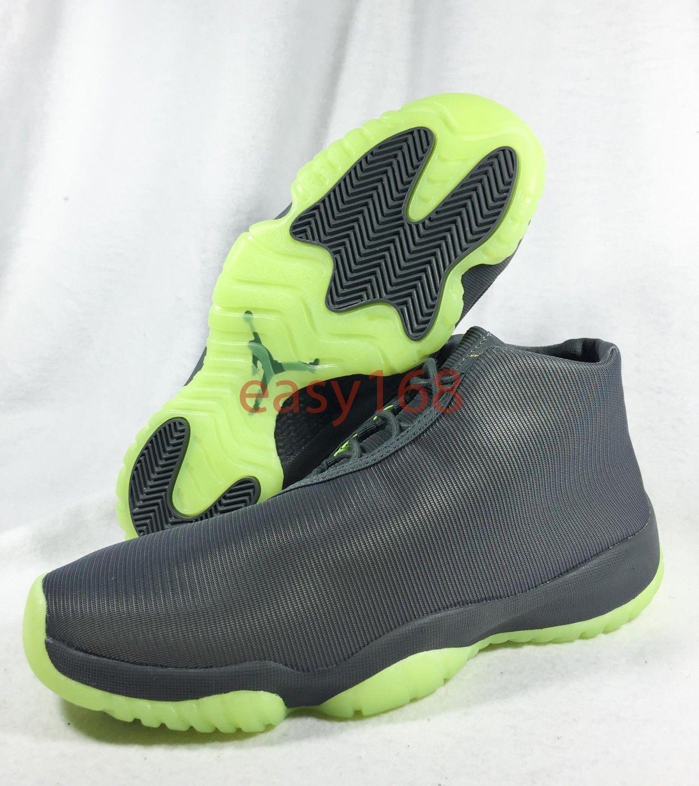New Nike Air Jordan Future Sz 10 Men's 44 Volt XI XI Volt 656503 Reflective 3M DMP III fc03cf