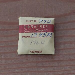 New-Longines-Genuine-Swiss-Cal-17-95M-Watch-Mainspring-Part-Watchmakers-G6D18